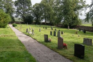 Cemetery paths - the finished work